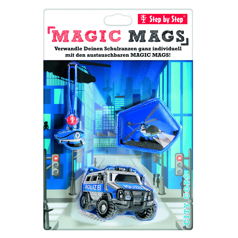 Magic Mags City Cops