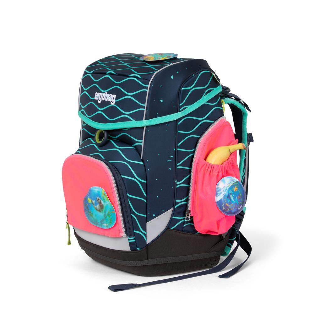 Seitentasche Zip-Set pink