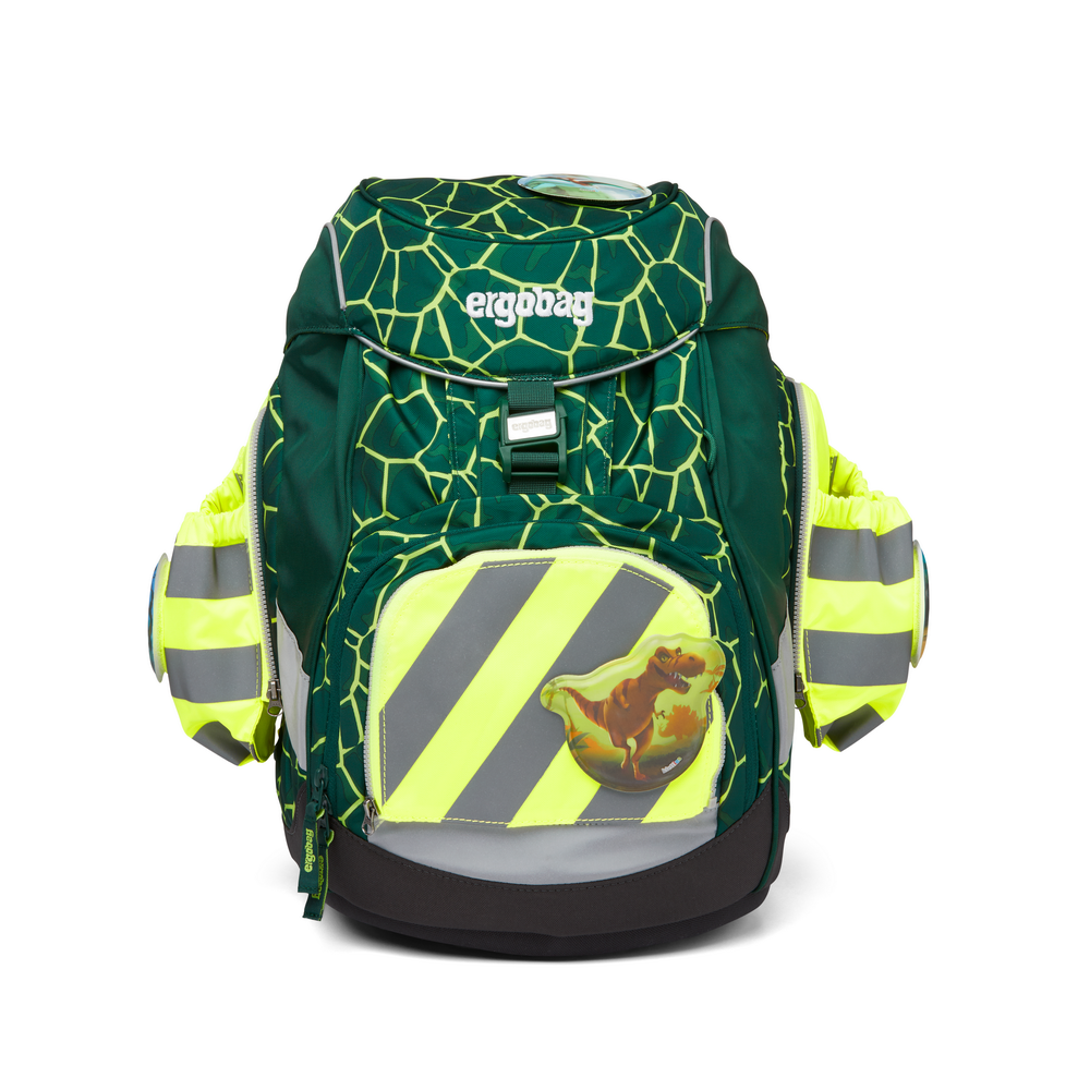 Seitentaschen Zip Set gelb Reflektstreif