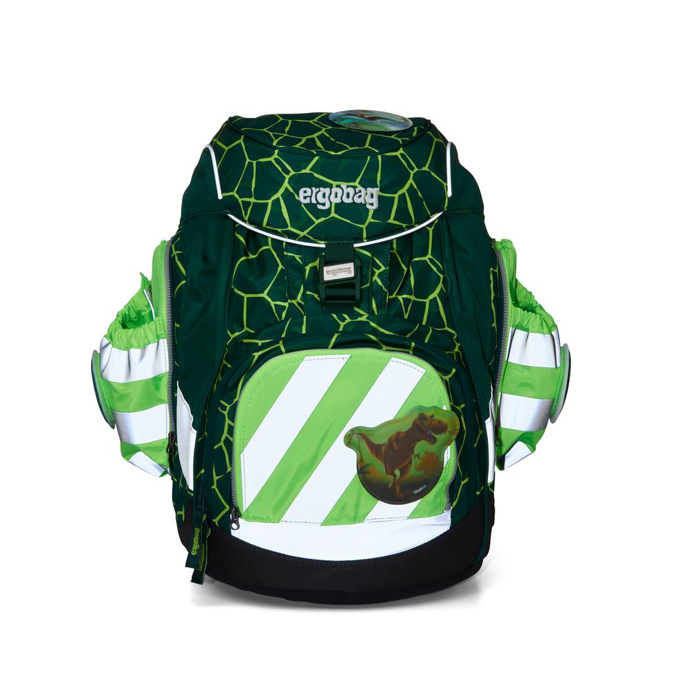 Seitentaschen Zip Set grün Reflektstreif