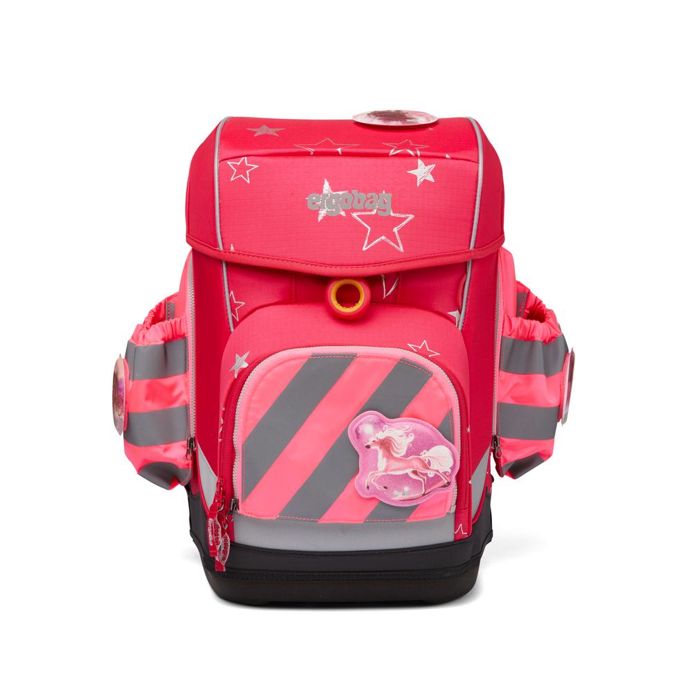 Seitentaschen Zip Set pink Reflektstreif